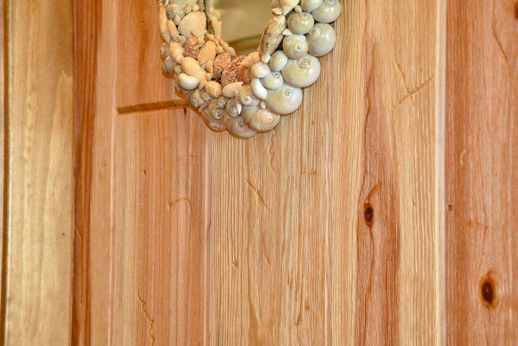 Close - up Natural Barnwood without Stain